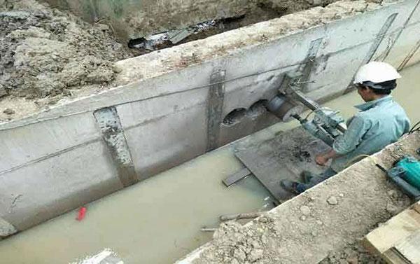 Dịch vụ khoan cắt đường ống nước bê tông
