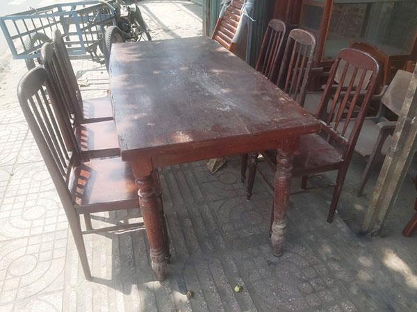 Mua các loại bàn ghế cũ giá cao