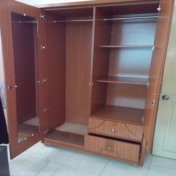Chuyên nhận thanh lý tủ quần áo gỗ cũ giá tốt