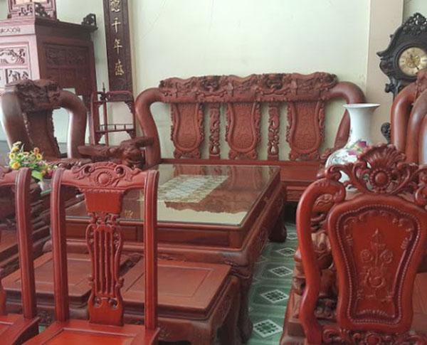 Mua các loại bàn ghế gỗ cũ thanh lý