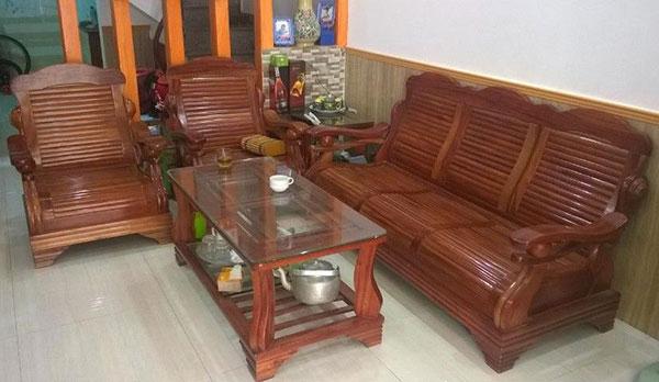 Nhận thanh lý các loại salon gỗ cũ