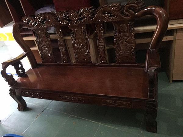Thu mua bàn ghế salon gỗ cũ xưa