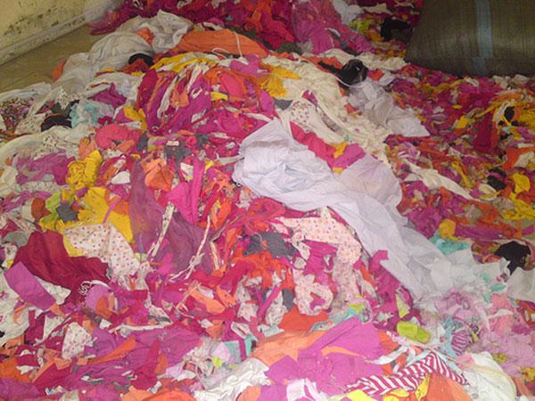 Các loại vải vụn vẫn có thể được thanh lý để thu lại lợi nhuận