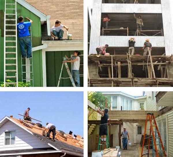 Nhận xây dựng sửa chữa nhà