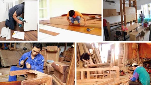 Dịch vụ sơn sửa đồ gỗ tại Đông Phương
